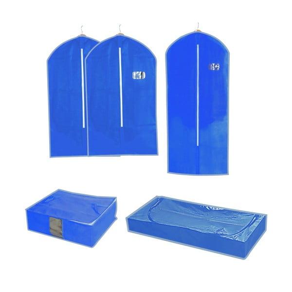 Sada 5 úložných organizérov a tašiek Storage Set