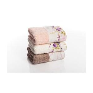 Sada 3 uterákov Palma V1, 30x50 cm