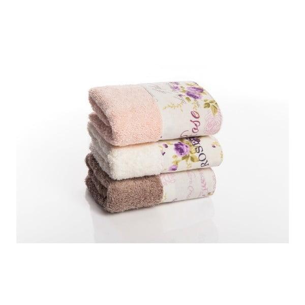 Sada 3 uterákov Palma V2, 50x90 cm
