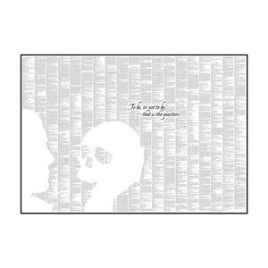 Knižný plagát Hamlet, 70x50 cm