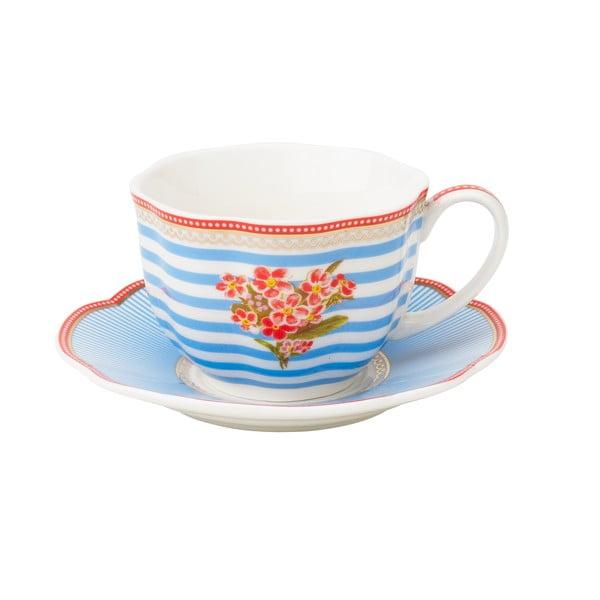 Porcelánová šálka s tanierikom Seaside od Lisbeth Dahl, 2 ks