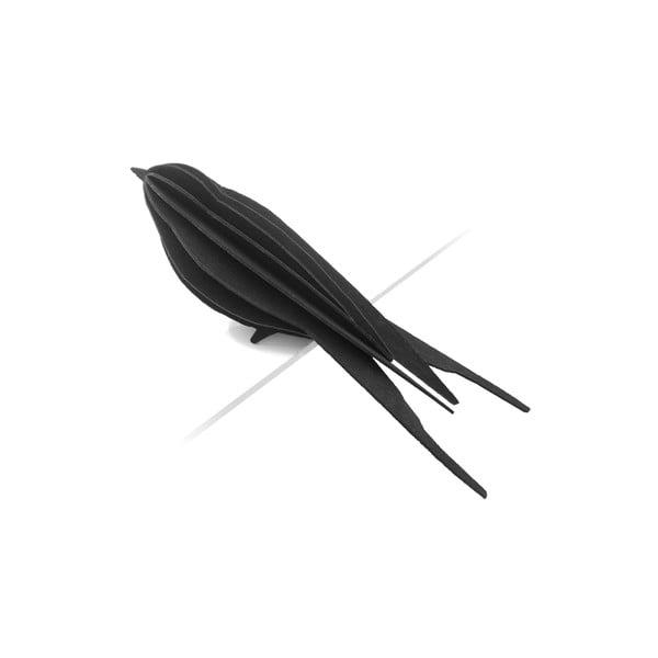 Skladacia pohľadnica Lovi Swallow Black