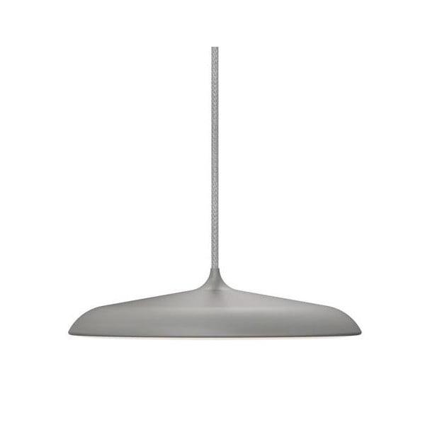 Závesné svetlo Nordlux Artist 25 cm, sivé