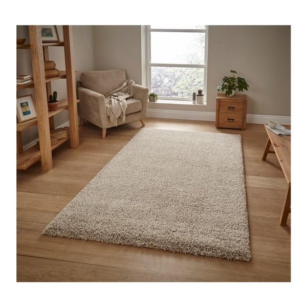 Béžový koberec Think Rugs Loft,120×170cm