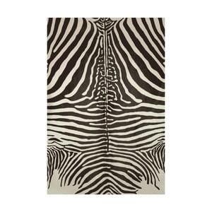 Koberec z vinylu Cebra Negro, 70x100 cm