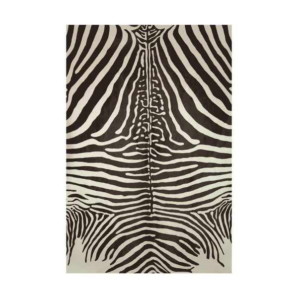 Koberec z vinylu Cebra Negro, 99x120 cm