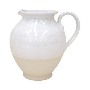 Biely džbán z kameniny Casafina Fattoria, 5,3 l