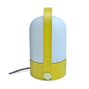 Stolová lampa so žltou konštrukciou Opjet Paris Top