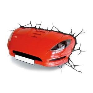Nástenné svetlo s nálepkou Red Car