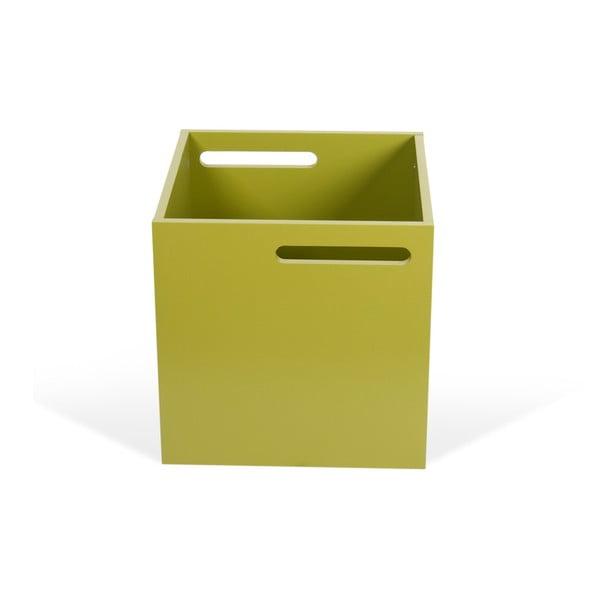 Zelený úložný box ku knižniciam TemaHome Berlin