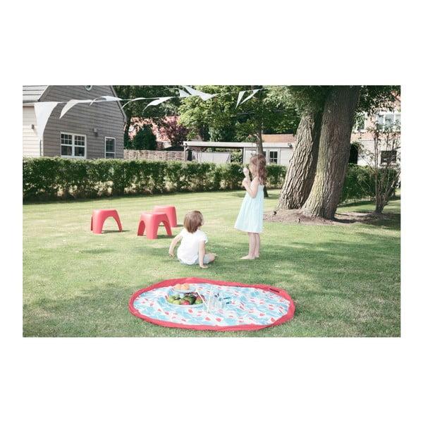 Podložka na hranie a vrece na hračky v jednom Play & Go Badminton