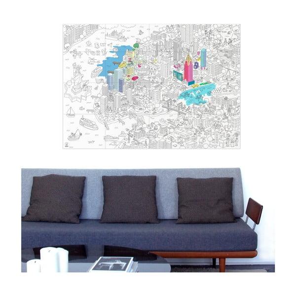 Maľovanka OMY NYC (70x100 cm)