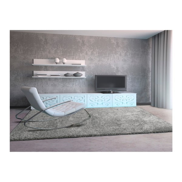 Sivohnedý koberec Universal Aqua, 57×110cm