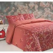 Prikrývka cez posteľ na dvojlôžko s obliečkami na vankúše Sultana, 200 x 220 cm