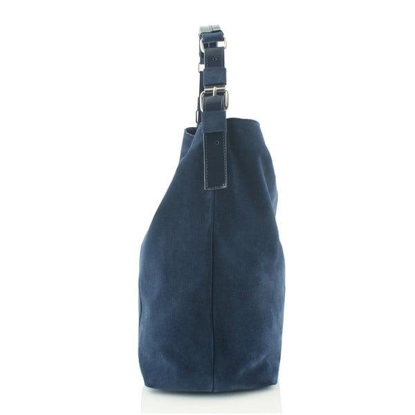 Kožená kabelka Boscollo Blue 3186