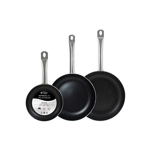 Sada 3 panvíc Bergner Chef Platinum