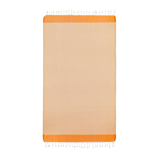 Hammam osuška Side Orange, 100x180 cm
