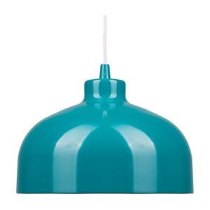 Tyrkysové stropné svetlo Loft You B&B, 44 cm