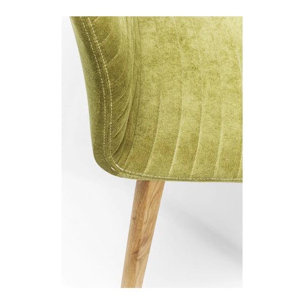 Zelená stolička Kare Design Lara