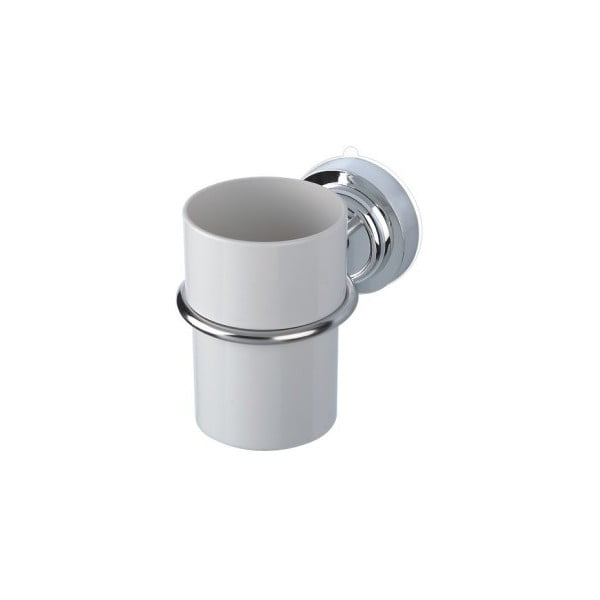 Pohárik na zubné kefky s oceľovým držiakom bez nutnosti vŕtania ZOSO Cup