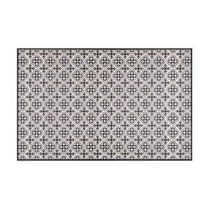 Čierny vinylový koberec Zala Living Sia, 65×100cm