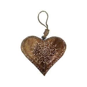 Závesná dekorácia v tvare srdca Antic Line heart Ornament