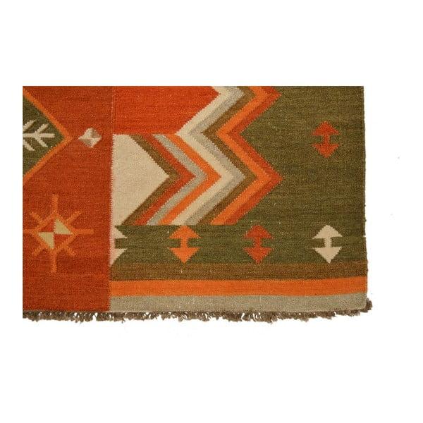 Vlnený koberec Kilim 51, 150x245 cm