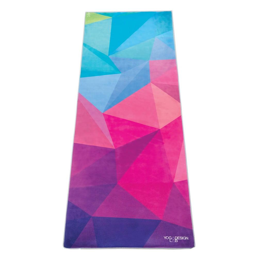 Uterák na jogu Yoga Design Lab Hot Geo, 340 g