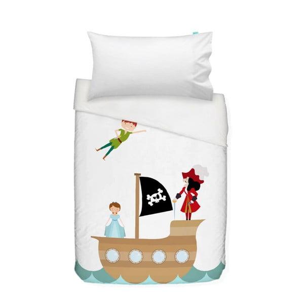 Detské bavlnené obliečky na paplón a vankúš Mr. Fox Peter, 100×120cm