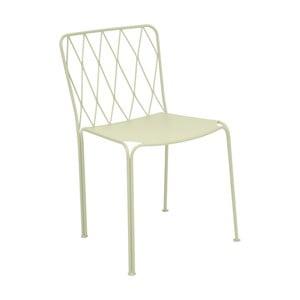 Svetlozelená záhradná stolička Fermob Kintbury