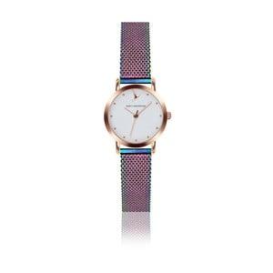 Antikoro dámske hodinky s remienkom v dúhovej farbe Emily Westwood Birdie