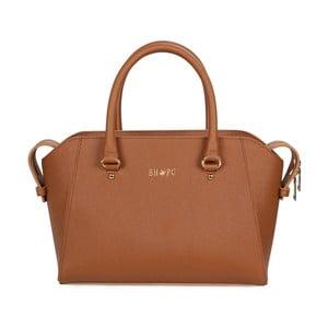 Hnedá kabelka z eko kože Beverly Hills Polo Club Sonia