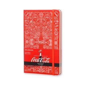 Zápisník Moleskine Coca-Cola, veľký, linkovaný