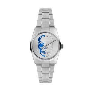 Pánske hodinky striebornej farby Zadig & Voltaire Bones