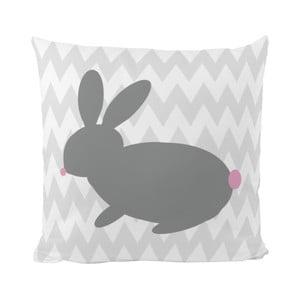 Vankúš Bunny One, 50x50 cm