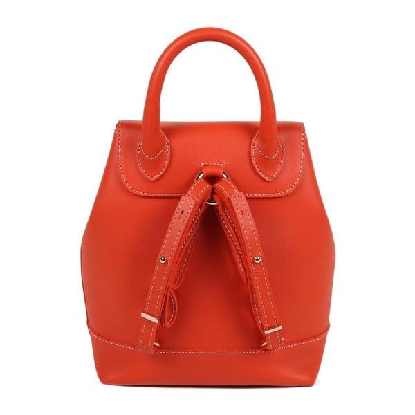 Oranžový batoh z eko kože Beverly Hills Polo Club Polly