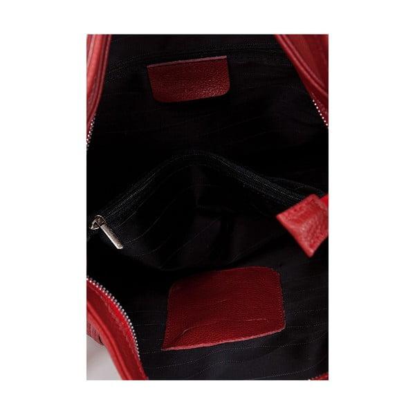 Kožená kabelka Giorgio Costa 15026 Red