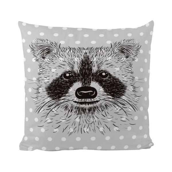 Vankúš Raccoon Friends, 50x50 cm