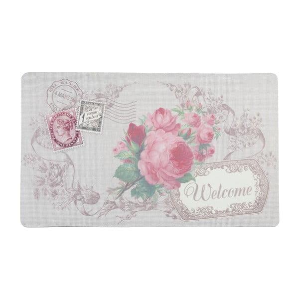 Rohožka Pink Rose Welcome, 74x44 cm