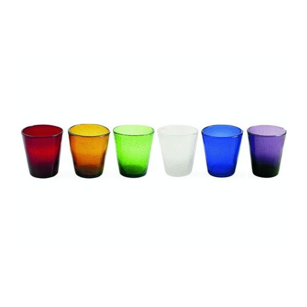 Sada pohárov Cancun Aqua, 6 ks
