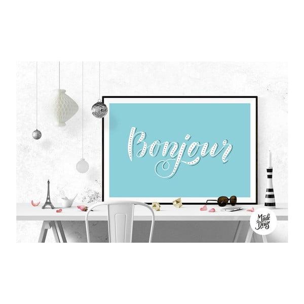 Plagát Bonjour, A3