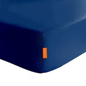 Tmavomodrá elastická plachta HF Living Basic, 140x200cm