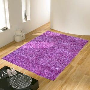 Fialový koberec Webtappeti Shaggy, 60 x 100 cm