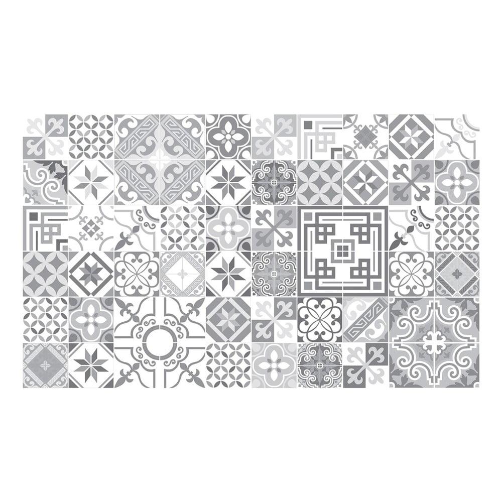 Sada 60 dekoratívnych samolepiek na stenu Ambiance Shades of Grey, 10 × 10 cm
