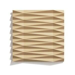 Horčicovožltá silikónová podložka pod hrniec Zone Origami Yato, 16×16 cm