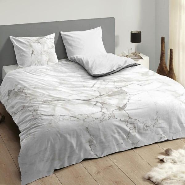Obliečky Müller Textiel Descanso White Story, 140x200cm