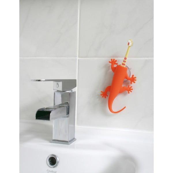Oranžový držiak na zubné kefky J-Me Larry