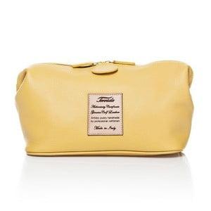 Kozmetická taška Pochette Yellow