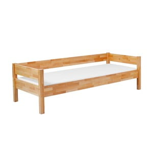 Detská jednolôžková posteľ z masívneho bukového dreva Mobi furniture Mia Sofa, 200×90cm