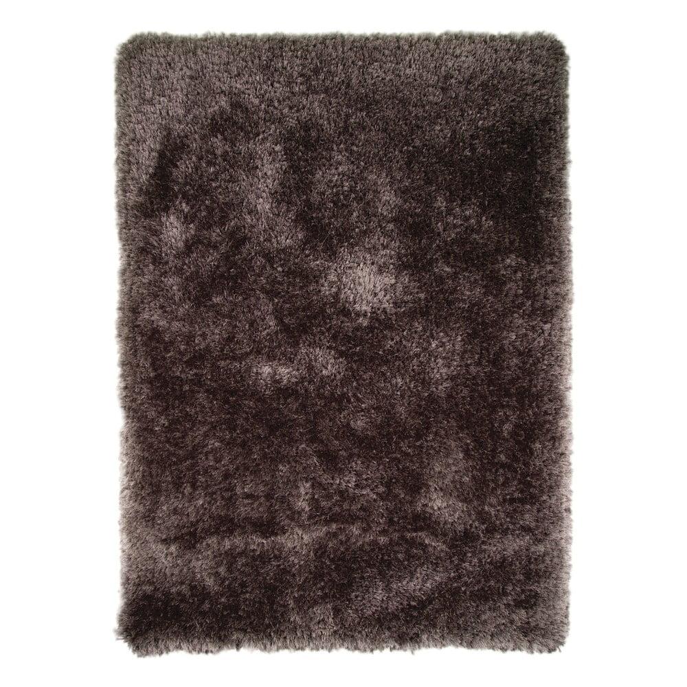 Tmavosivý koberec Pearl 120 × 170 cm